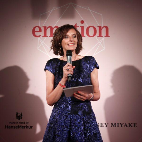 """EMOTION-Verlagsgründerin Dr. Katarzyna Mol-Wolf: """"In Deutschland gibt es so viele großartige Frauen, die erfolgreich ihren Weg gehen, dieleidenschaftlich und beharrlich ihre Träume verwirklichen. (Photo by Franziska Krug/Getty Images for Emotion Award)"""
