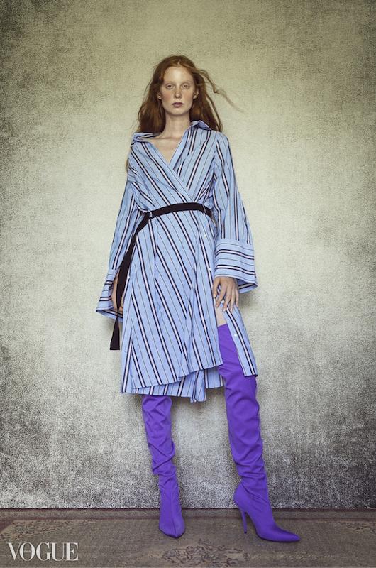 Model Laura Roth ist u.a. auch schon in der VOGUE zu sehen. (Foto ADDICTED TO MODELS)