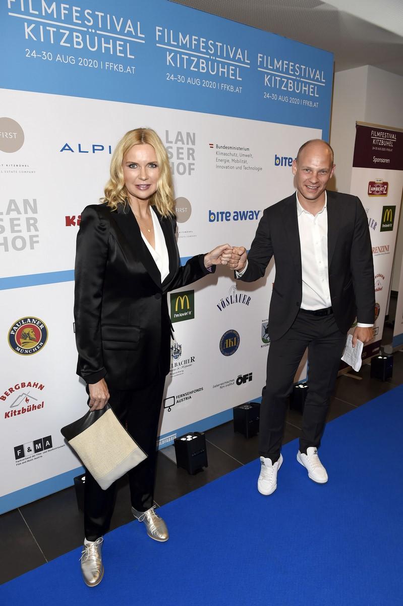 """8. Filmfestival Kitzbühel - """"Kino für alle!"""" Veronia Ferres und Michael Reisch. (Foto FILMFESTIVAL KITZBÜHEL)"""