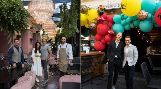 Aiola Familie eröffnet Operncafé und Pink Elephant