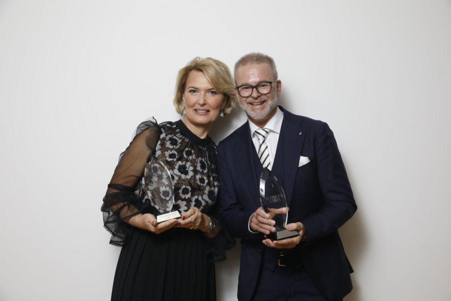 """Gewinner in der Kategorie """"Schmuckstück des Jahres"""": Andrea und Christoph Norz - Goldschmiede Norz (Foto Stefan Joham)"""