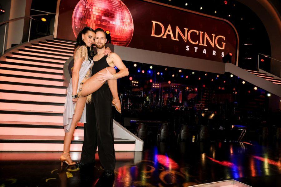 """Dancing Stars 2020"" - Edita Malovcic mit Tanzpartner Florian Vana. (Foto ORF/Hans Leitner)"
