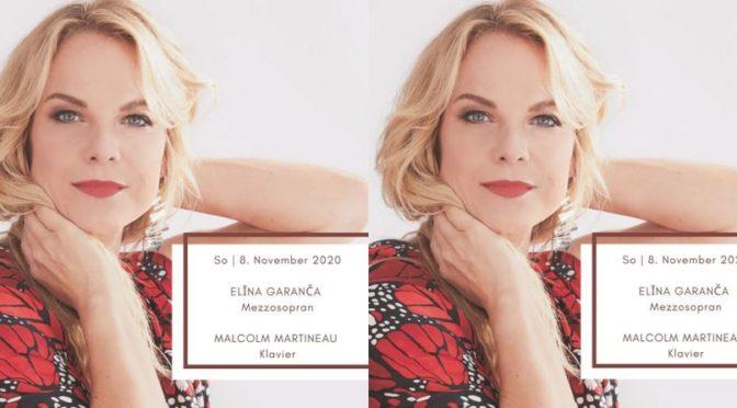 Opernsängerin Elīna Garanča gastiert am 8.11.2020 in Graz