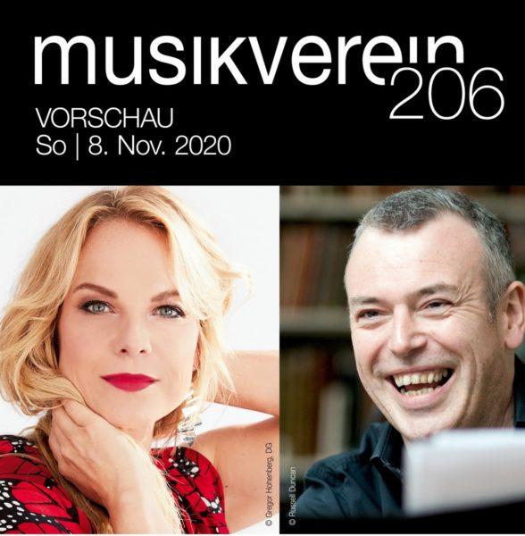 Mezzosopranistin Elīna Garanča (Foto Gregor Hohenberg) und Pianist Malcolm Martineau (Foto Russell Duncan)