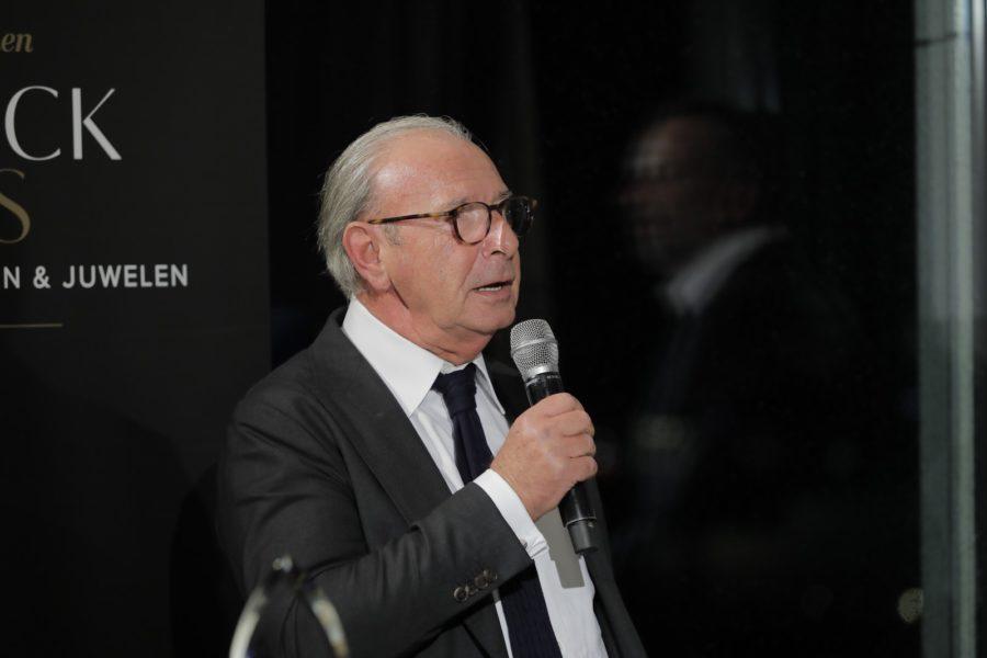 Der Schmuckstars Lifetime Honorary Award ging an Reinhard Köck. (Foto Stefan Diesner)