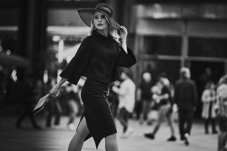 Silvia Schneider brachte gerade ihre vierte Modekollektion auf den Markt: The Black Collection. (Foto Philipp Jelenska)