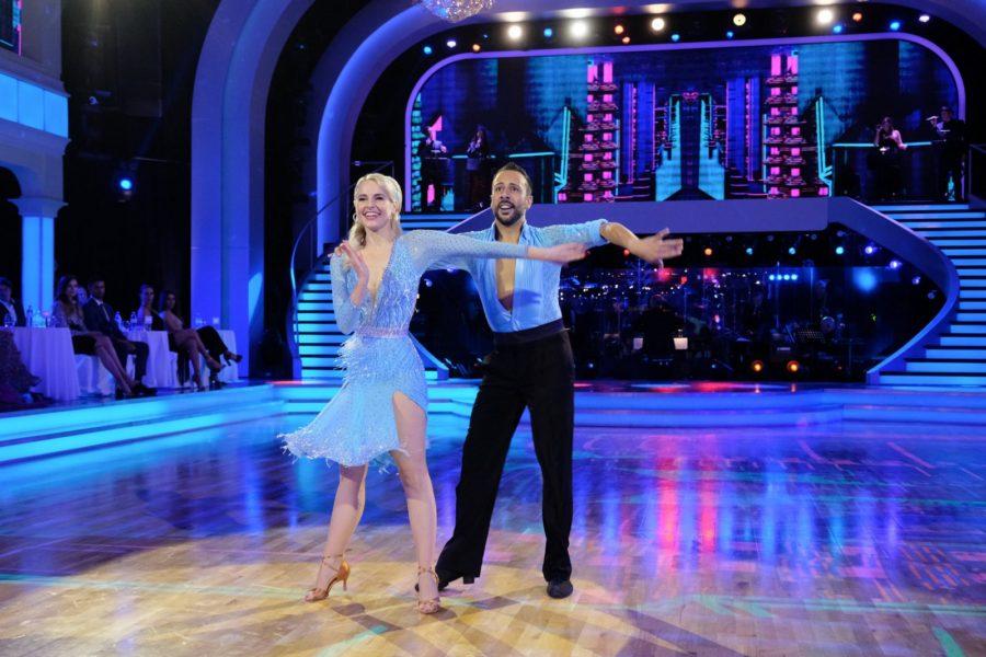 """""""Dancing Stars 2020"""" im ORF-Zentrum Wien: Silvia Schneider mit Tanzpartner Danilo Campisi. (Foto: ORF/Hans Leitner/Dancing Stars)"""