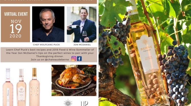 Legendary Chef Wolfgang Puck and Award-Winning Sommelier Jon McDaniel Celebrate Thanksgiving
