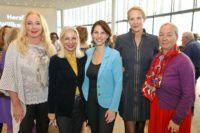 """EUWA-WOMEN's TALK anlässlich """"100 Jahre Frauenwahlrecht in Österreich"""" im Raiffeisenhaus Wien am 30.04.2019. Martina Fasslabend (2.v.li) (Foto Conny de Beauclair)"""