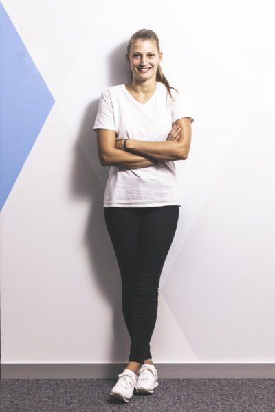 """""""Sport war und ist mein Ausgleich"""", so Alexandra Rupp, die auch als Model arbeitete. (Foto Thomas Luef)"""