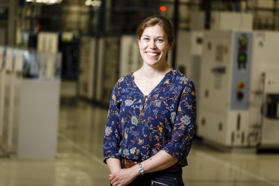 Für die Prozessingenieurin Dr. Birgit Staudinger bedeutet Erfolg, auf die eigene Arbeit stolz seinzu können. (Foto Thomas Luef)