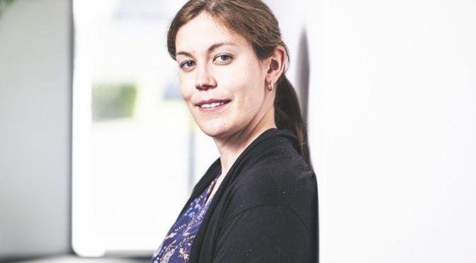 Dr. Birgit Staudinger – mit Stolz bei der Arbeit