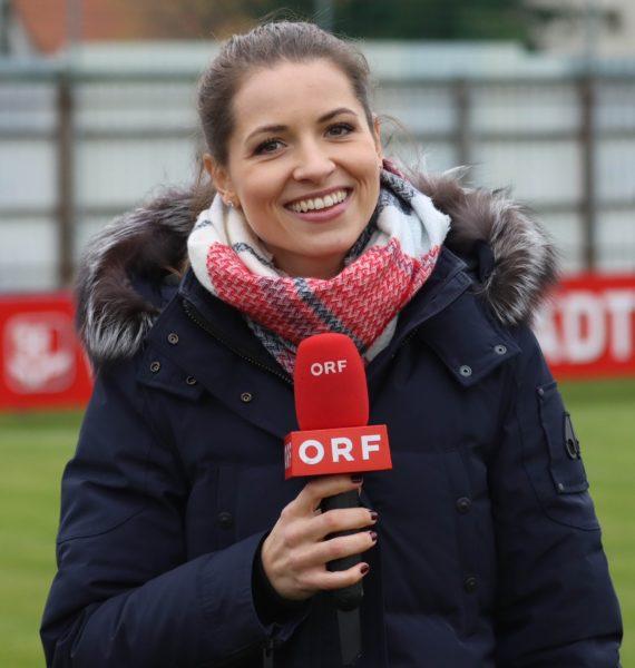 Seit 2016 ist Kristina Inhof ausschließlich beim ORF tätig und moderiert heuer als Ersatz für Mirjam Weichselbraun auch die Tanzsendung Dancing Stars. (Foto Gerhard Breitschopf)