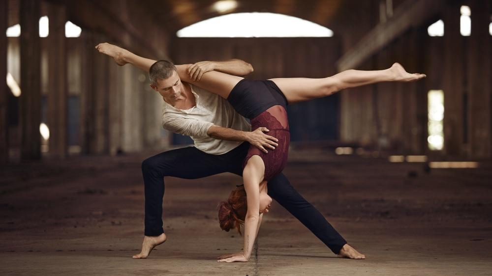 MN Dance Company, Gründer Michal Rynia & Nastja Bremec Rynia aus Slowenien als Gast beim Internationalen Storytelling Festival. (Foto Giuseppe Ippolito)