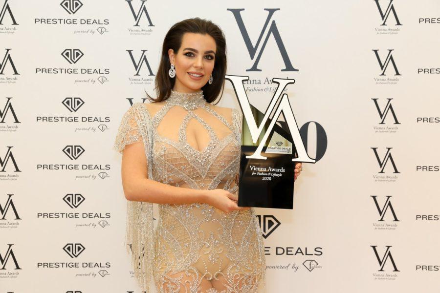 Vienna Awards for Fashion and Lifestyle 2020: MODELOF THE YEAR 2020 Gewinnerin: Nadine Mirada. (Foto Katharina Schiffl)