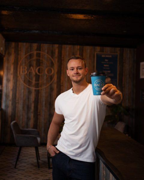 """Frederik Kjaer hat noch viele Ideen und Visionen: """"Ich möchte MONETIZ ganz groß machen und würde gerne in allen größeren Städten Dänemarks ein BACO eröffnen."""" (Foto privat)"""