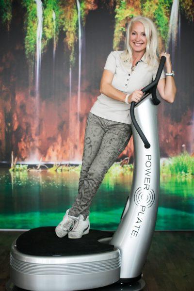 Die erfolgreiche Unternehmerin Sabine Dunkler setzt sich seit vielen Jahren mit den Themen Gesundheit, Fitness und Ästhetik auseinander. (Foto Barbara Nidetzky)
