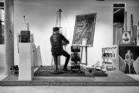 Tom Lohner ist ein Künstler, der es liebt zu experimentieren. (Foto Bakerhouse Gallery)