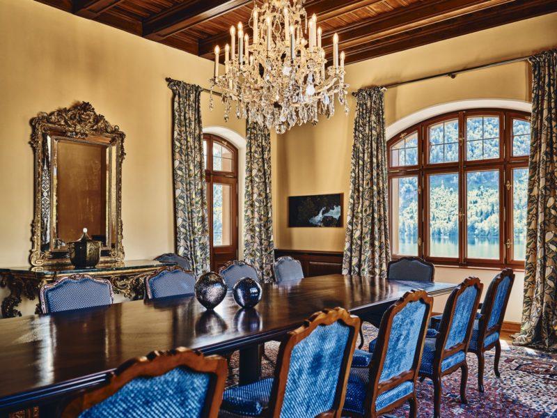 Die Villa Anna am Grundlsee kann exklusiv für bis zu 10 Personen gebucht werden. (Foto TAUROA)