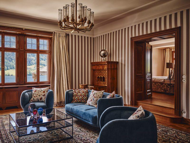 """""""Villa Anna"""": Der Überlieferung nach wurde dieses Haus vom berühmten Wiener Ringstraßen-Architekt Viktor Rumpelmayer imtypischen Heimatstil des späten 19. Jahrhunderts erbaut. (Foto TAUROA)"""