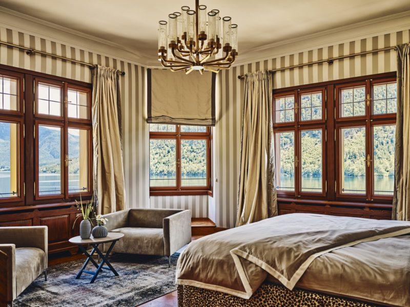 Relaxen und Kraft tanken in den herrlichen Suiten der Villa Anna am Grundlsee. (Foto TAUROA)