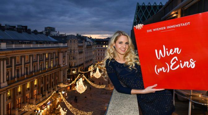 Miss Vienna Beatrice Körmer wirbt für Wien (m)Eins