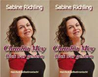 """Buch """"Dick war gestern"""" von Sabine Richling""""."""