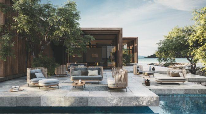 Möbelwerk stellt Glosters neue Outdoormöbel-Designs vor