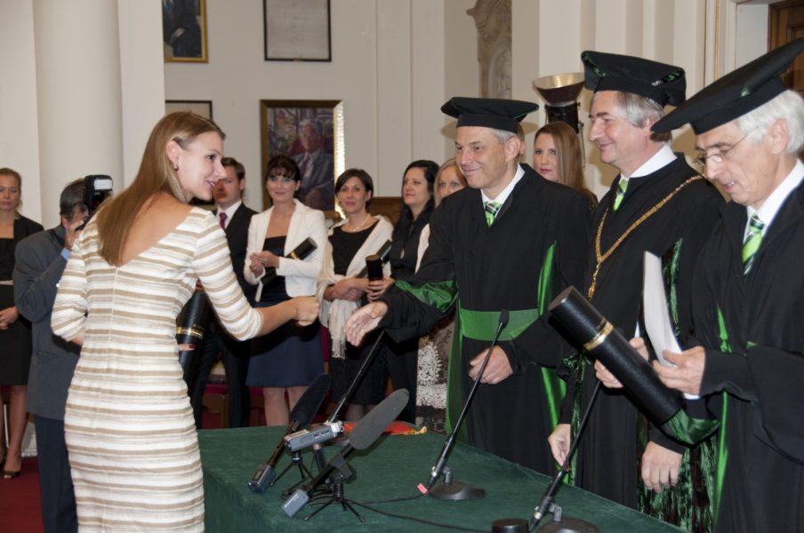 Anastasija Lesjak schloss 2012 ihr Studium an der Medizinischen Universität Graz ab. (Foto Privat)