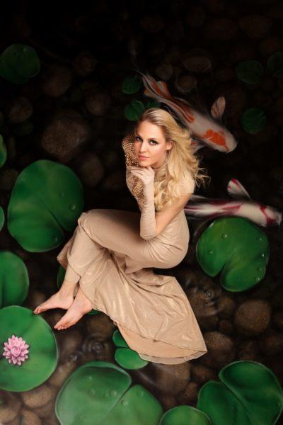 "LA HONGs ""secret"" Fotoshooting mit Miss Vienna Beatrice Körmer. (Foto Sabine König)"
