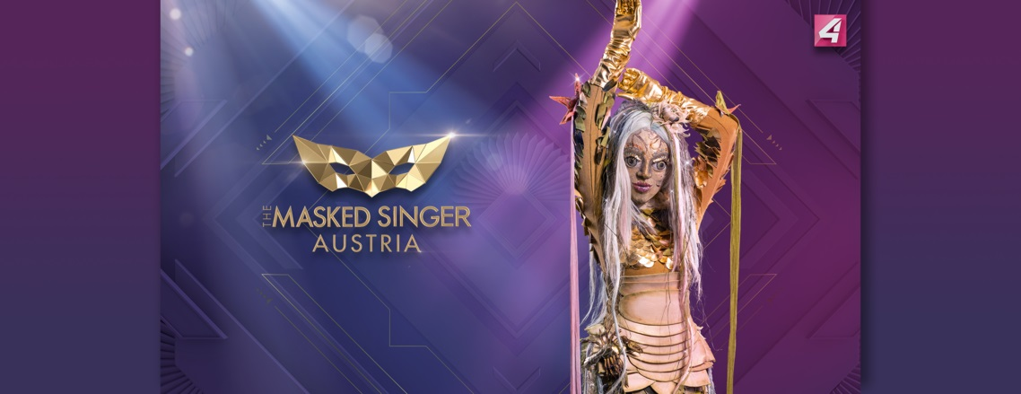 The Masked Singer Austria: die Donaunymphe. (Foto Puls4)