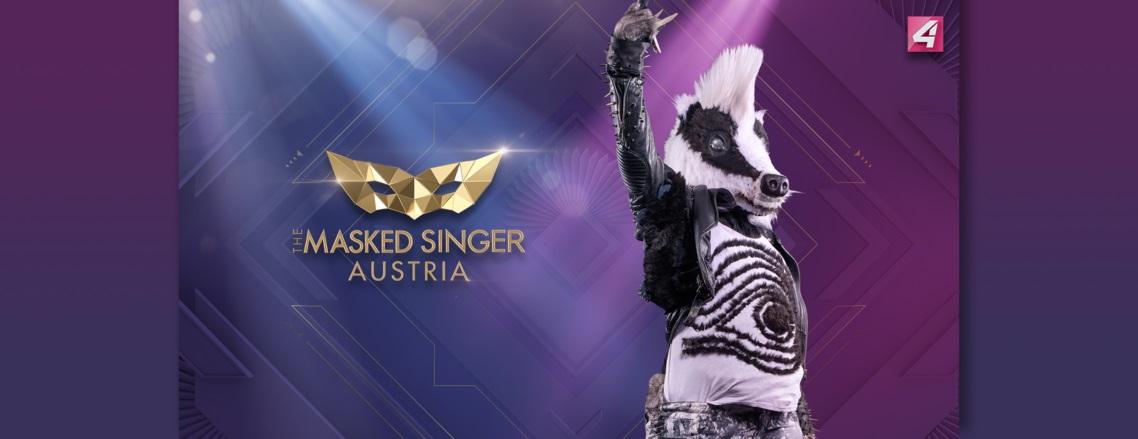 The Masked Singer Austria: der Frechdachs. (Foto Puls4)