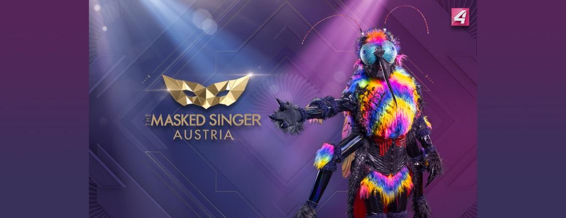 The Masked Singer Austria: die Gelse. (Foto Puls4)