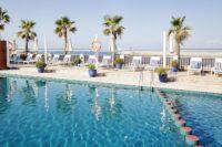 Hotel PORTIXOL: Hotel-Pool mit herrlichem Ausblick. (Foto Johanna Gunnberg/Hotel Portixol)