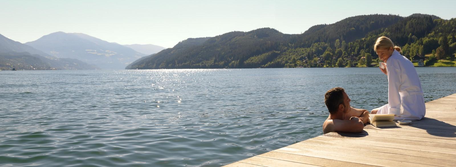 Entspannung pur im Hotel KOLLERs am Millstätter See in Kärnten. (Foto KOLLERs)