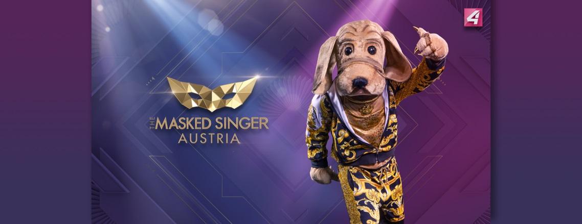 The Masked Singer Austria: der Wackeldackel. (Foto Puls4)