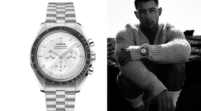 Speedmaster Master Chronometer Canopus Gold™ IN Nick Jonas MUSIK VIDEO