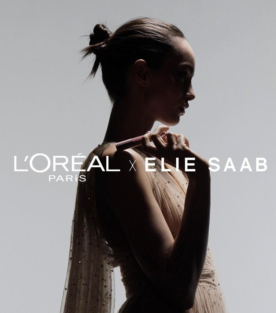 Mit der gemeinsamen Vision, Frauen das Gefühl von Schönheit und Stärke zu verleihen, haben sich die beiden ikonischen Marken L'Oréal Paris x ELIE SAAB vereint, um im Mai 2021 eine außergewöhnliche Make-up-Kollektion zu lancieren. (Foto L'Oréal Paris)