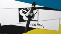 Swatch-Kooperation mit Disney und dem Keith Haring Studio: Mickey Blanc sur Noir. (Foto Swatch)