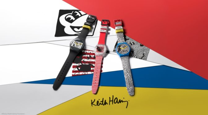 Swatch-Kooperation mit Disney und dem Keith Haring Studio