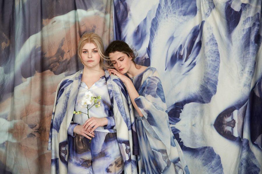 """Die steirische Stardesignerin Eva Poleschinski präsentierte ihre erste Homewear-Kollektion """"Indoor+Outside"""". (Foto EvaPoleschinski)"""