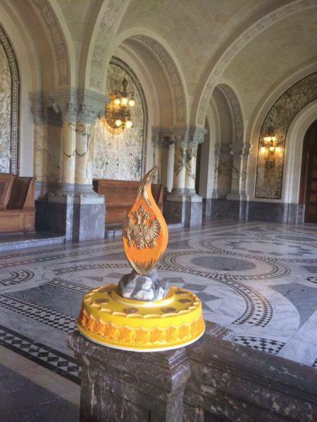 'Flame of Peace'. (Foto HM Habsburg-Lothringen)