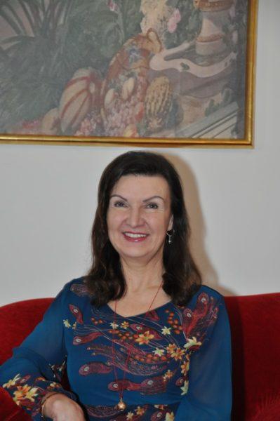 Herta Margarethe Habsburg-Lothringen ist die Gründerin und Präsidentin von 'Flame of Peace'. (Foto Reinhard Sudy)