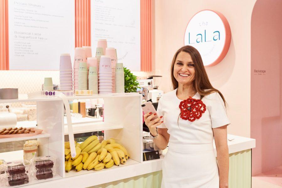 """Hinter dem Grab-&-Go-Foodkonzept""""The LaLa""""steht niemand geringer als die zwei Power-Schwestern und Visionärinnen Cecilia Havmöller (Foto) und Susanna Paller. (Foto The LaLa)"""