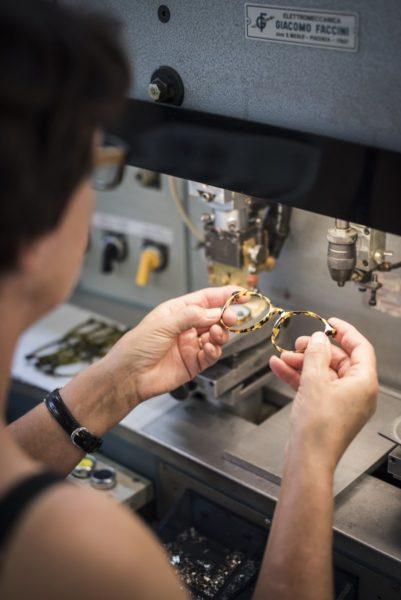 ANDY WOLF Eyewear - die international erfolgreiche Firma hat ihre Produktionsstätte im steirischen Hartberg. (Foto Alexander Gebetsroither)