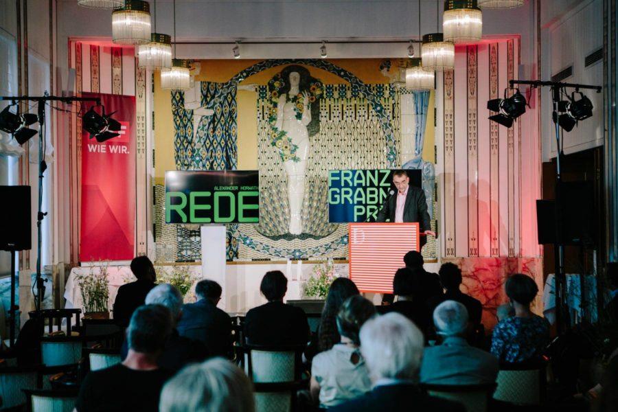 Im Rahmen der 24. Diagonale in Graz wurde wieder der Franz-Grabner-Preis in den Kategorien Kinodokumentarfilm und Fernsehdokumentarfilm verliehen. (Foto Diagonale/Sebastian Reiser)