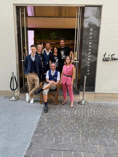 Das Luis Trenker-Team rund um Inhaber und Geschäftsführer Michi Klemera. (Foto Kolarik Andreas)
