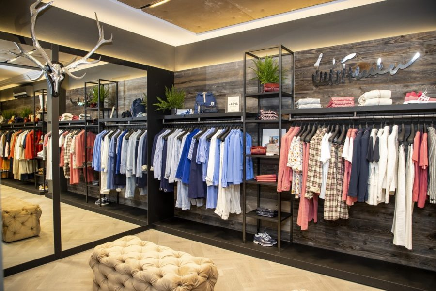 Der neue, sehr schöne Luis Trenker Store in Salzburg. (Foto Kolarik Andreas)