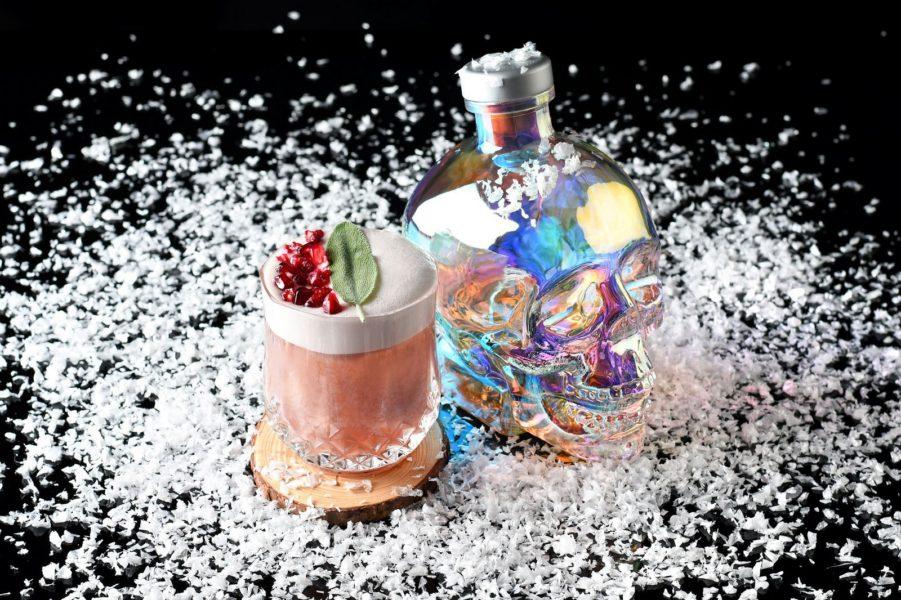 """Noch exklusiver als derklassische """"Crystal Head"""" ist der """"Crystal Head Vodka Aurora"""": Merry and Bright Sour. (Foto Crystal Head)"""