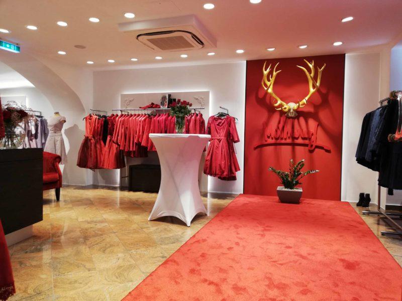 Der neue Store von Mothwurf in Salzburg befindet sich in einem Haus aus dem Jahr 1425 und ist rund 200 m2 groß. (Foto Dow)